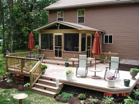 Decks And Porches Pictures Photo Gallery by Low To Grade Decks Columbus Decks Porches And Patios By