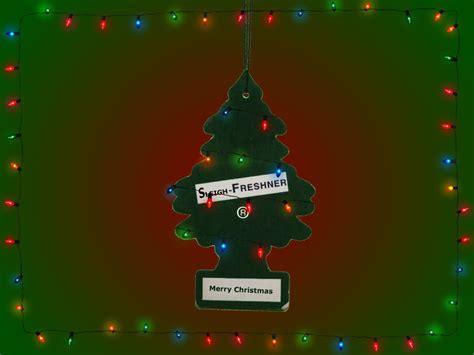 christmas tree air freshener 2 by handsettbattery on