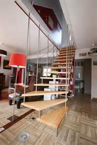 Epaisseur Marche Escalier Suspendu by Escalier Design 238 Le Bailleron Suspendu Par Escaliers Potier