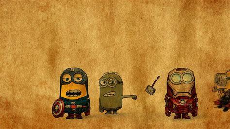 marvel minions avengers x men minions wallpapers