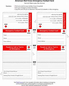 emergency contact form download free premium templates With contact strategy template