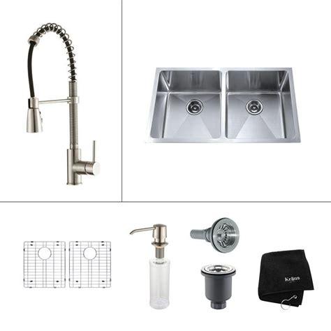 33 inch undermount kitchen sink kraus 33 inch undermount bowl stainless steel 7329