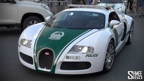 Bugatti Veyron Joins Dubai Police Fleet