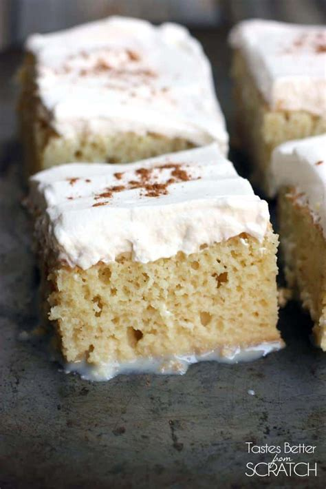 tres leches cake tastes   scratch