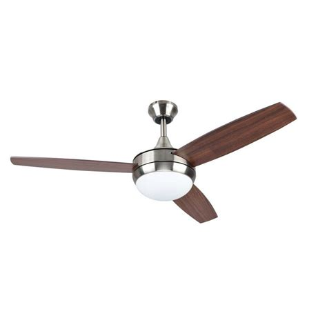 paddle fans with lights shop harbor breeze beach creek 44 in brushed nickel
