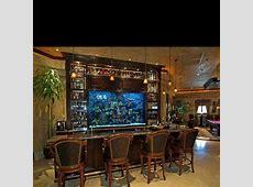 Fish tank bar Man Cave Pinterest