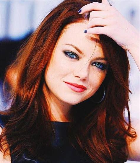 Emma Stone Hair Color Dark Red Get Yo Hair Did