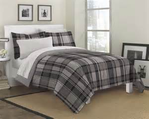 new ultimate plaid ultra soft microfiber comforter sham set twin ebay