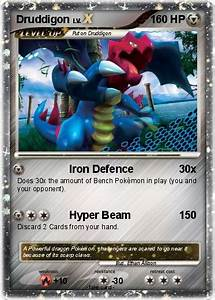 Pokémon Druddigon 72 72 - Iron Defence - My Pokemon Card