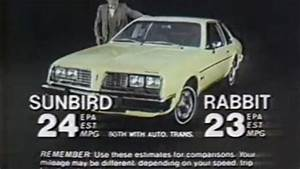 U00bb 1980 Pontiac Sunbird Commercial