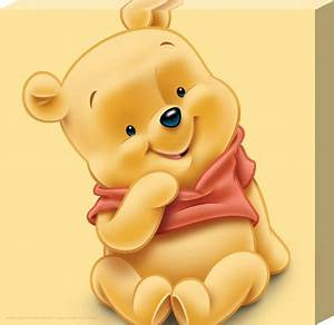 New Baby Pooh Winnie The Pooh Canvas Print