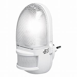 Nachtlicht Mit Steckdose : nachtlicht mit bewegungsmelder 3 leds bauhaus ~ Watch28wear.com Haus und Dekorationen