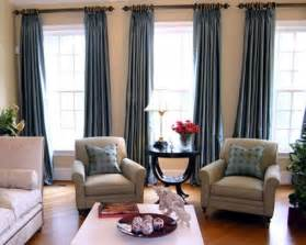 Curtains For Livingroom Three Window Curtains And Chairs For The Casa Grey Curtains Curtain Ideas And