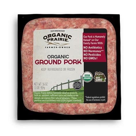 View the full recipe index. Frozen US Organic Prairie Ground Pork Mince | South Stream ...