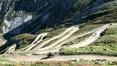 Stella Alpina World Highest Motorcycle Meeting Incl. Crash