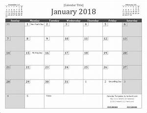 2018 calendar template google sheets printable calendar for Google sheet 2018 calendar template