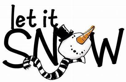 Snow Let Clipart Shovel Clip Challenge Word