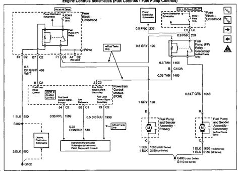 Wiring Diagram For 2007 Gmc Yukon by I Need A Wiring Diagram For A 2002 Gmc Yukon For The Fuel