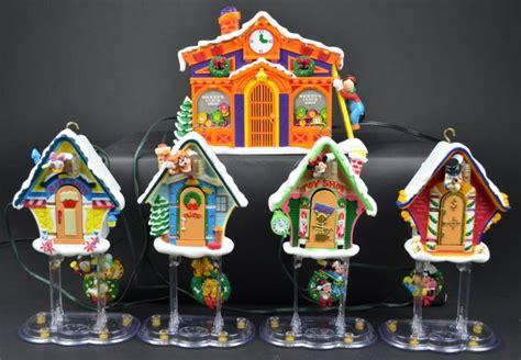 christmas mickeys clock shop automated musical
