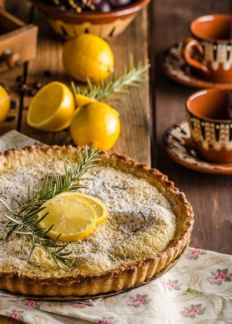 cuisine tarte au citron recette tarte au citron mezcal et romarin