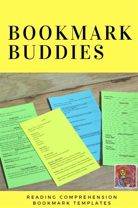 classroom freebies  reading comprehension bookmarks