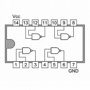 74ls00 Quad 2 Input Nand Gate Buy Online In India
