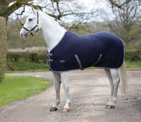 horse rug rugs cooler weatherbeeta fleece navy townfields thermic quilt saddlers blankets tack