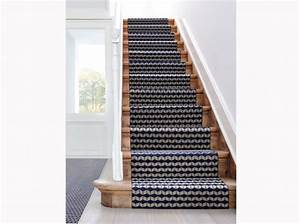 tapis sur escalier couloirs escaliers entrees With tapis d escalier design