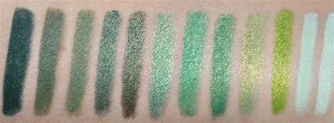 green eyeliner comparisons dupes