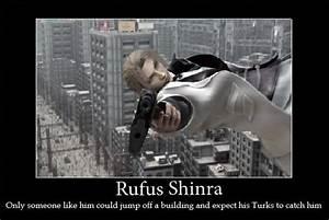 Rufus Shinra By Victoni On DeviantArt