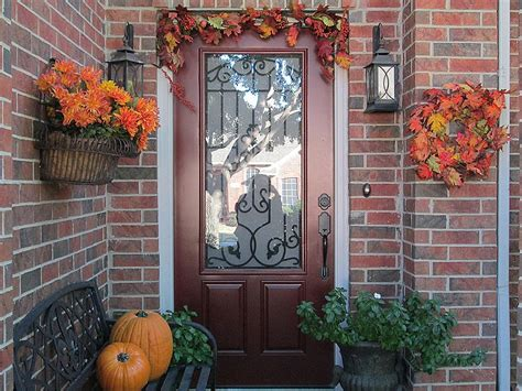Outdoor Fall Decorating Ideas Home