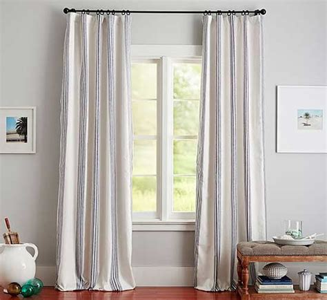 How To Hang A Drapery Rod by How To Hang Curtains Better Homes Gardens