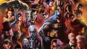 DC Comics Characters HD Wallpaper - WallpaperFX