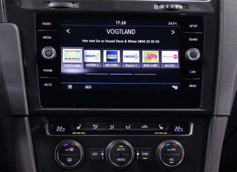 golf 7 composition media vw composition media 2018 radio navi bluetooth update