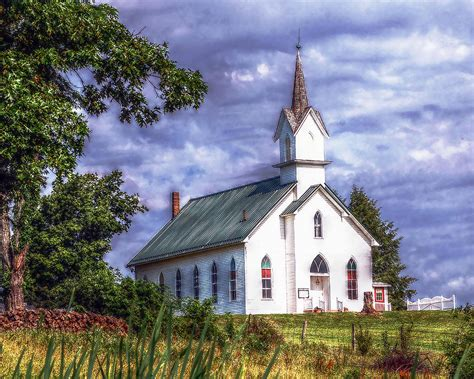 Country Church Photograph By Brian Graybill