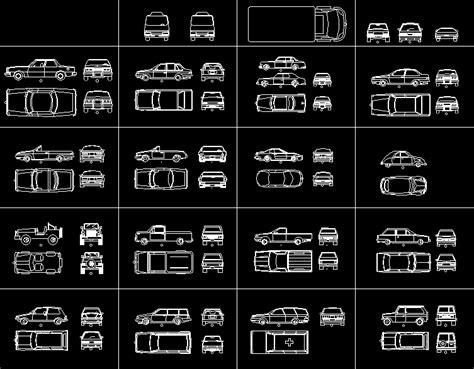 autos en  en autocad descargar cad gratis  kb