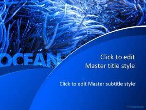 blue ocean  template