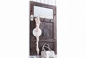 Garderobenpaneel Mit Spiegel : home affaire garderobe used look mit spiegel otto ~ Markanthonyermac.com Haus und Dekorationen