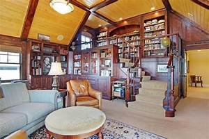 20, Home, Library, Design, Ideas, For, 2019