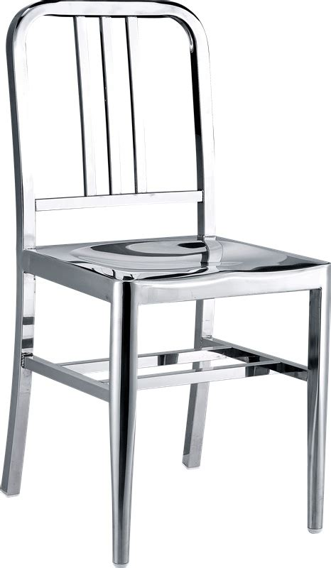 stainless steel dining chairs chair pads cushions