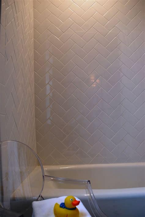 4x16 subway tile herringbone subway tiles in herringbone pattern tile showers