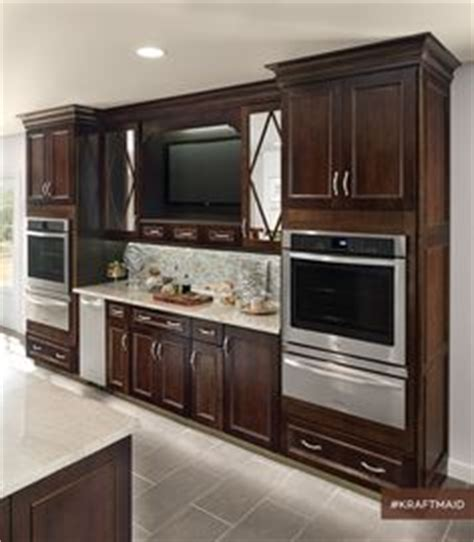 ideas for kitchen cabinets kraftmaid gentry square maple peppercorn kitchen remodel 4397