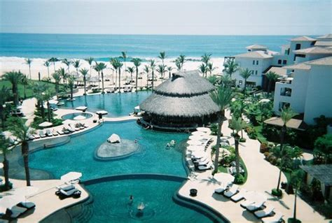 The Beautiful Pools And Swim Up Bar Picture Of Cabo