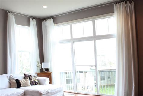 curtains for 8 ft window window treatment curtains