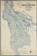 Denny's Pocket Map of San Mateo County California Compiled ...