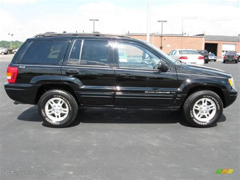 2000 jeep cherokee black 2000 black jeep grand cherokee limited 4x4 17408715 photo