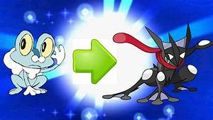 Shiny Froakie to Shiny Frogadier to Shiny Greninja ...