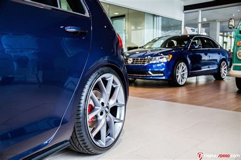 volkswagen gti night blue just enough tweaks to stand out 2016 night blue gti