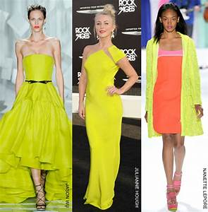 Image Gallery neon coloured dresses