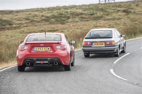 old subaru sports car toyota sports cars past and present ae86 vs gt86 toyota